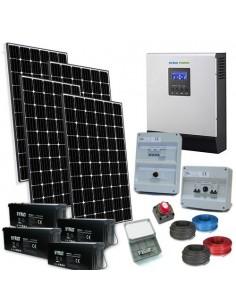 Kit Casa Solare TR Plus 2.4kW 48V Inverter 5000W Fotovoltaico Batteria 200Ah SB