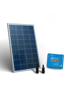 Kit Solare Base2 80W 12V SR Pannello Fotovoltaico Regolatore di carica 10A MPPT