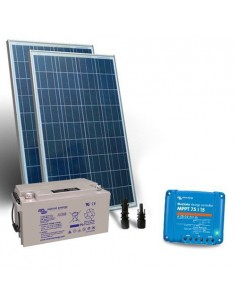 Solar Kit 160W 12V Pro2 Panel Charge Controller 15A MPPT Battery 100Ah