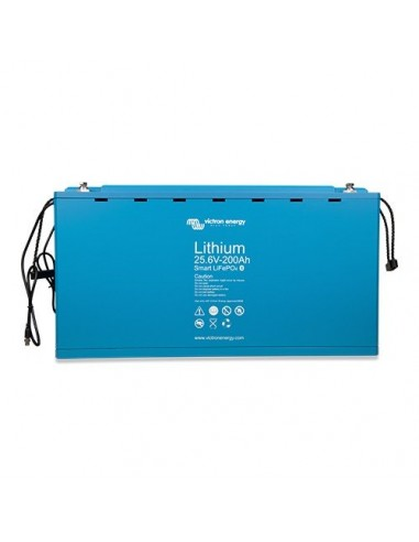 Batterie lithium fer phosphate 100Ah 12,8V Smart LiFePO4 Victron Energy Solaire