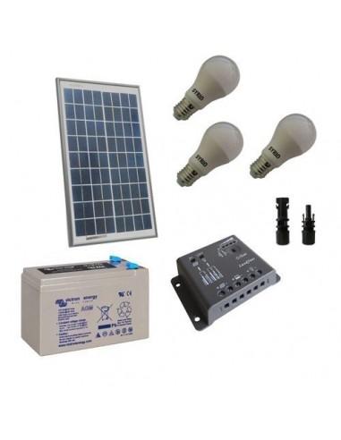 Kit Led Batterie Solaire 30w 12v 14ah D'éclairage Photovoltaique Intérieur Pour wOkTPXuiZ