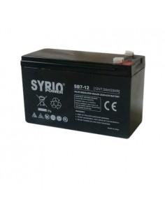 Batterie 7Ah 12V AGM wiederaufladbare Blei-Säure UPS Diebstahlwarnanlage
