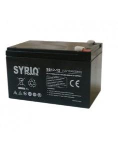 Batterie 12Ah 12V rechargeable plomb alarme vélo électrique UPS photovoltaïque