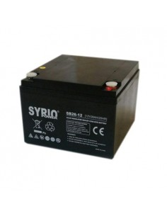Batterie 26Ah 12V AGM rechargeable alarme solaire antivol au plomb