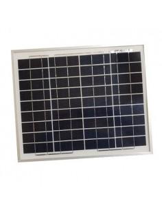 Pannello Solare Fotovoltaico 10W 12V SR Policristallino Impianto Camper Baita