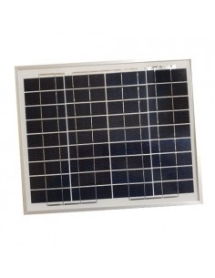 Solarmodul Photovoltaik SR 10W 12V Polykristallines Installation Camper Hutte