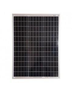 Pannello Solare Fotovoltaico 50W 12V SR Policristallino Impianto Camper Baita
