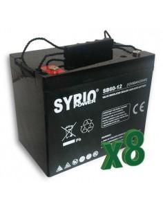 AGM Battery 60AH 12V Syrio Power Off-Grid Solar System Electric Vehicles Marine