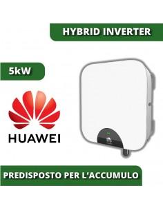 Inverter ibrido Huawei 5kW SUN2000L fotovoltaico con accumulo batterie