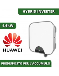Huawei 4.6kW SUN2000L Hybrid-Wechselrichter mit Batteriespeicher