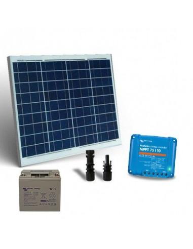 Kit Solaire 50W Base2 Panneau Photovoltaïque Contrôleur de charge 10A MPPT