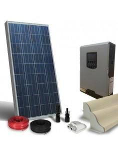 Kit Solaire Campeur 150W LUX SR Panneau Onduleur 1000W 12V Photovoltaique RV