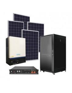 Kit Solare Fotovoltaico Pro 3,3kW Accumulo da 4,8kW Batteria al Litio Pylontech