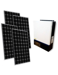 Kit Fotovoltaico Off-Grid Base 1.560W Inverter 4000W 48V Regolatore 80A MPPT