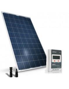 Kit Solare Base 280W 12/24V Pannello Fotovoltaico Regolatore 30A MPPT