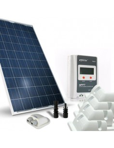 Solar Kit Camper 250W 12V Base Photovoltaik Panel