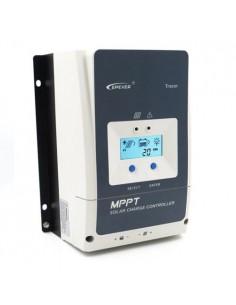 Regolatore di Carica MPPT 50A 12/24/36/48V 200VOC EP Solar con Display LCD