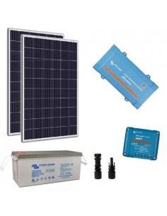 Kit Solare Baita Pro 260W Impianto Fotovoltaico Stand Alone Isola