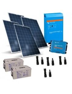 Kit Solare Baita 1KW 24V Victron Energy con Inverter 1000W 24V 1200VA
