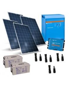 Kit Solare Baita 1KW 24V Victron Energy Inverter 1200W 24V 1600VA Fotovoltaico