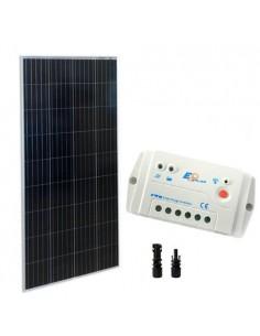 Kit Solare Base 175W 12V VE Pannello Fotovoltaico Regolatore di Carica 20A PWM