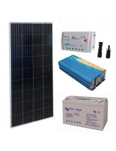 Kit Solare Baita Pro 150W 12V Impianto Fotovoltaico Stand-Alone Isola