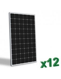 Photovoltaic Solar Panel 300W Monocrystalline System House Chalet