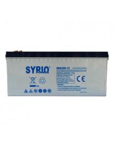 Batteria 100Ah 12V GEL Deep Cycle Syrio Power Fotovoltaico nautica camper