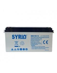Batería 160Ah 12V GEL Deep Cycle Syrio Power Fotovoltaica Náutico Camperista