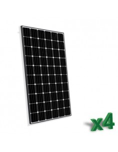 Set of 4 Photovoltaic Solar...