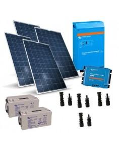 Kit Solare Baita 520W 12V Victron Energy Fotovoltaico in Isola con Accumulo