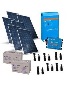 Kit Solare Baita 1.5KW 24V Victron Energy Inverter 1600W 24V 2000VA Fotovoltaico