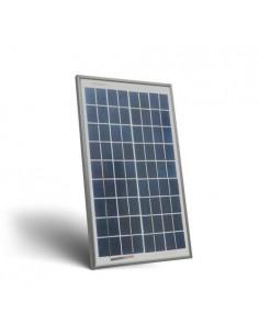 Placa Solar Fotovoltaico 10W 12V Policristalino Implant Camper Barco Baita