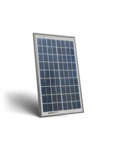 Pannello Solare Fotovoltaico 10W  12V Camper Barca Baita Stand-Alone Off-Grid