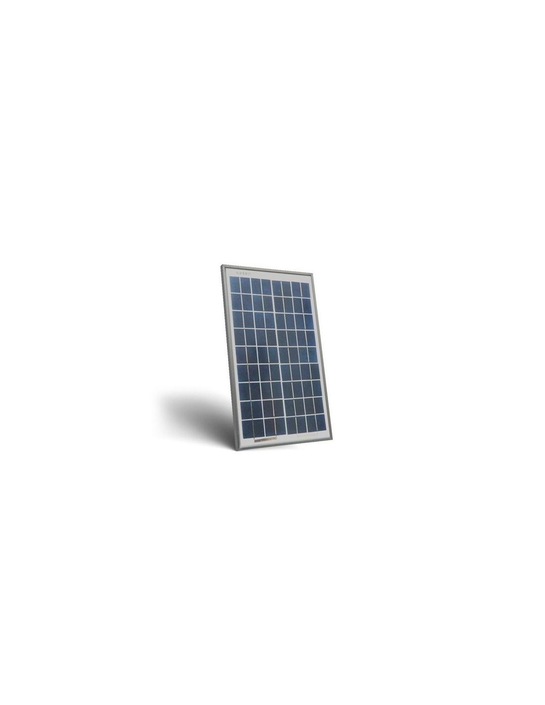 panneau solaire photovoltaique 10w 12v polycristallin. Black Bedroom Furniture Sets. Home Design Ideas