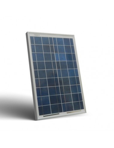 20W 12V Photovoltaic Solar Panel Caravan Motorhome Boat Lighting Off-Grid