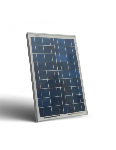 Pannello Solare Fotovoltaico 20W  12V Camper Barca Baita Stand-Alone Off-Grid