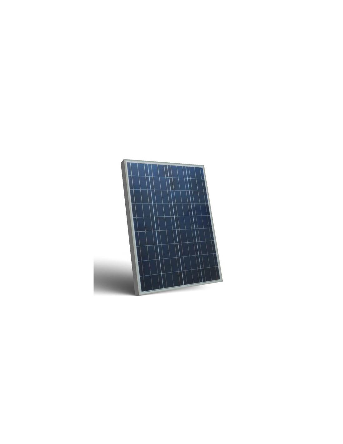 Pannello Solare Per Camper Occasione : Pannello solare fotovoltaico w v policristallino