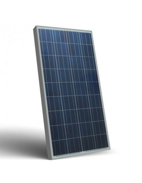 Solarmodul Photovoltaik 130W 12V Solarpanel Camper Boot Alpenhutte Off-Grid