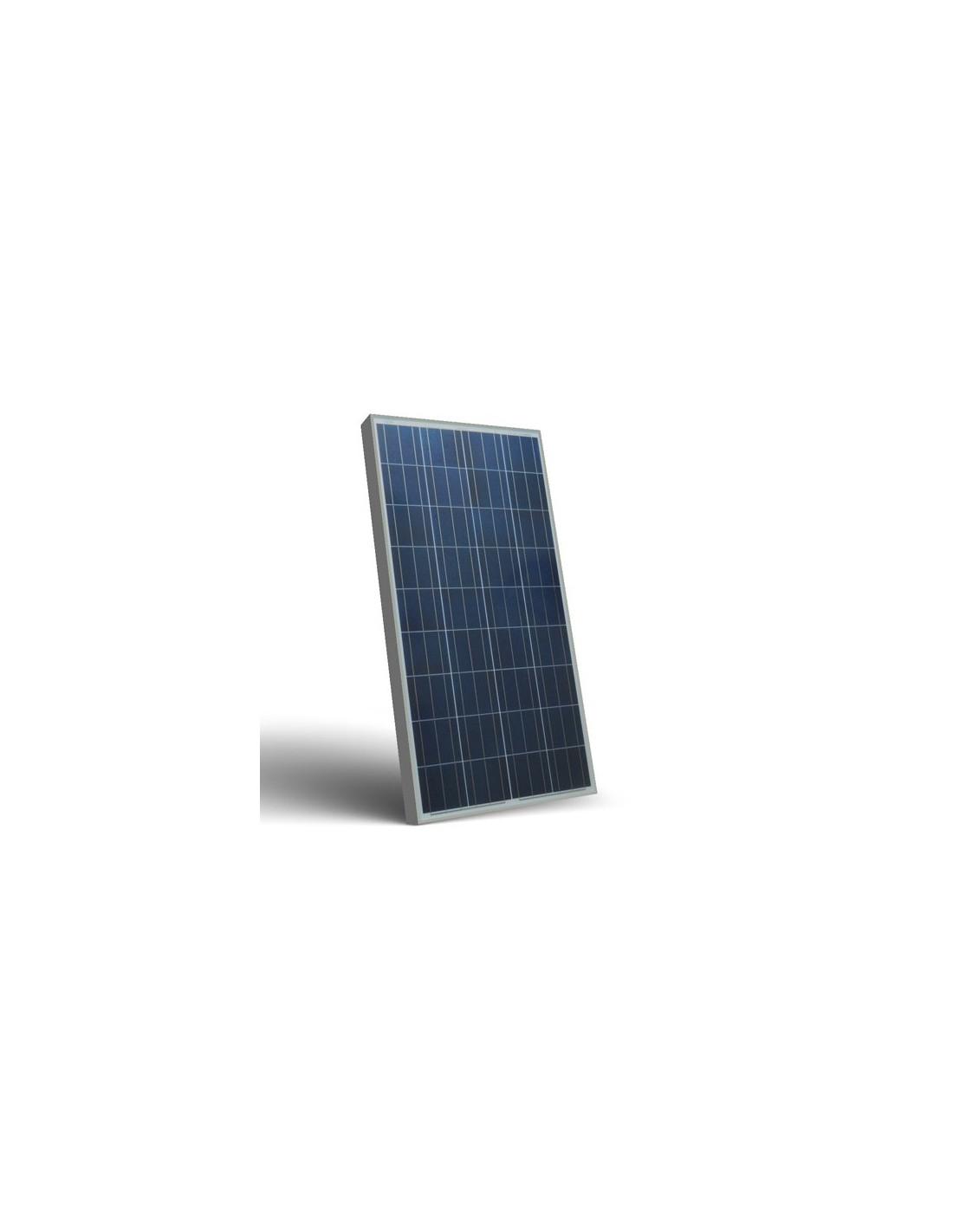 Pannello solare fotovoltaico 130w 12v policristallino for Immagini pannello solare