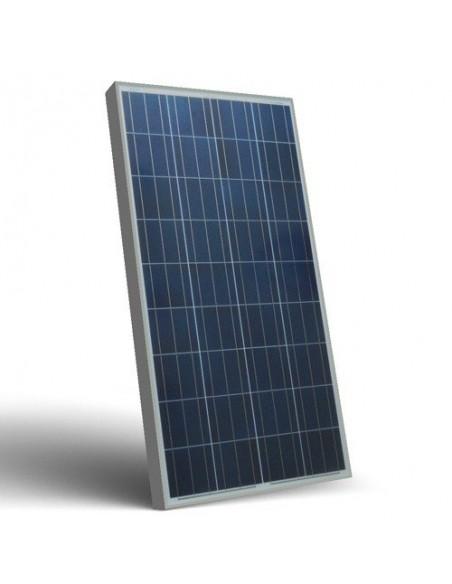 Placa Panel Solar Fotovoltaico 150W 12V Autocaravana Barco Chalet Off-Grid