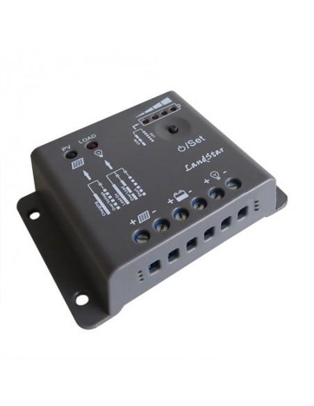 Regulador de Carga PWM 5A 12V EP Solar LandStar