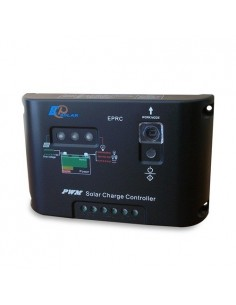 Regolatore di Carica PWM 10A 12/24V EP Solar EP Series Fotovoltaico Off grid