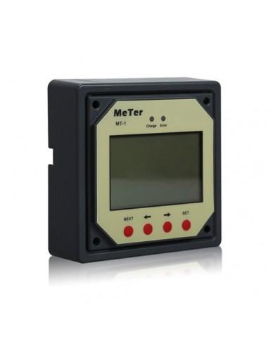 Display a distance MT-1 pour Controleur de charge REGDUO solaire photovoltaique