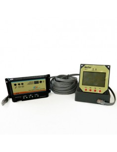Regolatore di Carica PWM REGDUO 10A 12/24V EP Solar EP Series Fotovoltaico + Display Remoto MT-1