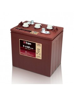 Batterie cyclique Trojan 225Ah 6V T-105 pour le Photovoltaique, Stand-Alone