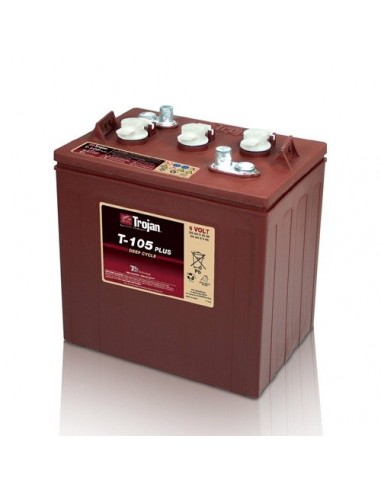 Batteria Trojan 225Ah 6V T-105 Fotovoltaico off grid, veicoli elettrici nautica