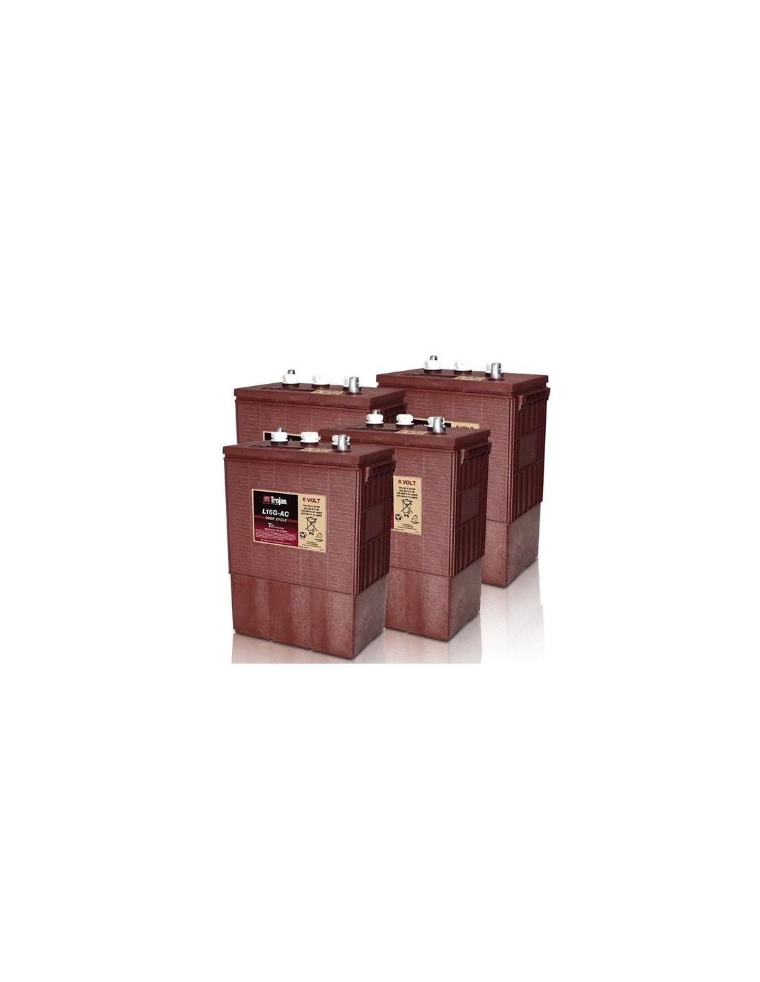 Solar System For Rv Battery Box : Trojan battery ah v l g ac off grid solar system