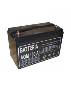 AGM Battery 100Ah 12V Luminor Off-Grid Solar System Electric Vehicles Marine RV