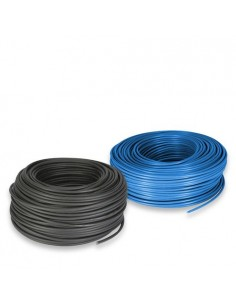 Elektrischkabel Set 35mm 5mt Blau mit 5mt Scharz